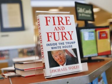 Fire and Fury: Michael Wolff's bestselling Donald Trump expose to be adapted into TV series