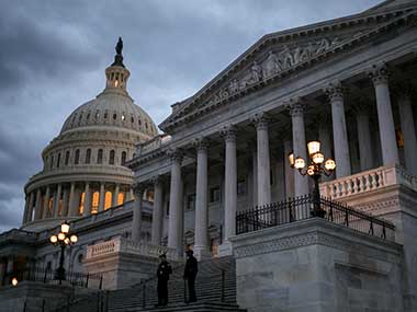 File image of the US Capitol. AP