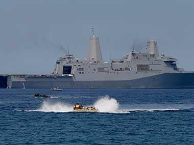Philippines says it will not get involved in South China Sea dispute, says US can 'take care of its own interests'