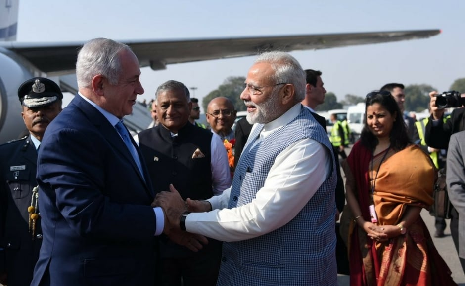 This is the first prime ministerial visit from Israel to India since the visit of former prime minister, Ariel Sharon. Twitter@narendramodi
