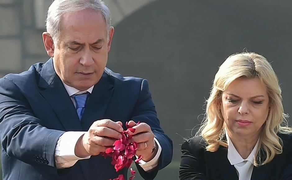 The prime minister said  being in India is deeply moving for him and his wife Sara Netanyahu and the people of Israel. He added the visit  heralds a flourishing partnership. PTI