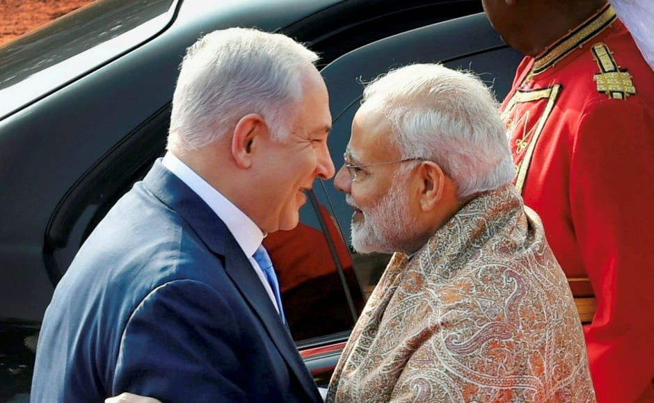 'It began with Narendra Modi's historic visit to Israel, which created tremendous enthusiasm that continues with my visit here,' said the Israeli prime minister. PTI