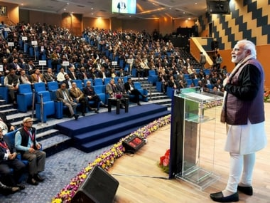 Narendra Modi urges govt officials to challenge themselves, take postings in backward districts