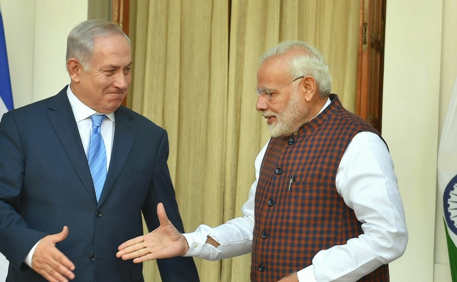 The visit of Israeli prime minister to India (January 14-19) commemorates the 25th anniversary of the opening of an Indian embassy in Tel Aviv in 1992. PTI