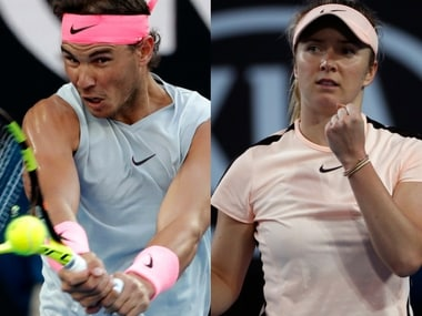 Australian Open 2018: Rafael Nadal, Elina Svitolina storm into 2nd round, Nick Kyrgios eases through