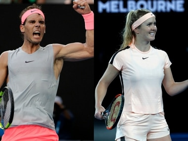 Rafael Nadal and Elina Svitolina are through to the quarter-finals of the Australian Open. AP