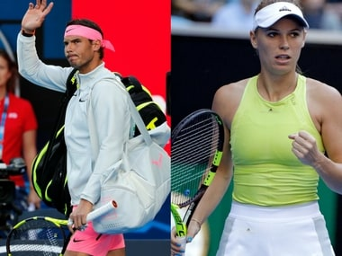Rafael Nadal and Caroline Wozniacki will be in action on Day 3. AP