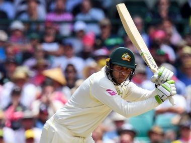 Ashes 2017: Usman Khawaja's steely determination pays off on Day 2 as southpaw gets closer to much-needed Test ton