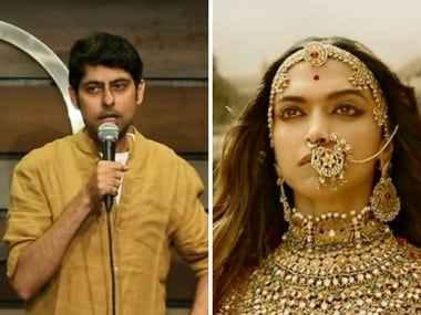Watch: Padmaavat is the tale of Padmini and parrot, decodes screenwriter-comedian Varun Grover