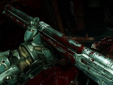 Doom is a series of first-person shooter video games developed by id Software. Image: Official Doom website