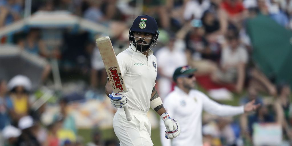 Batsmen let India down against South Africa - Kohli