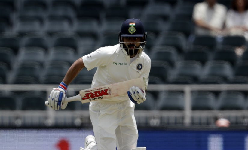 Virat Kohli surpassed MS Dhoni for the record of most Test runs as India captain. AP
