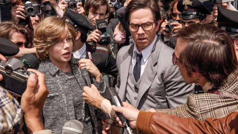ALL THE MONEY IN THE WORLD Michelle Williams and Mark Wahlberg