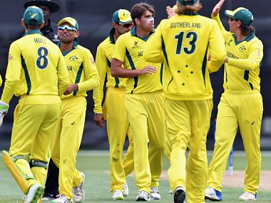 Australia aim to seal their spot in last-eight as they take on PNG. Image courtesy: ICC