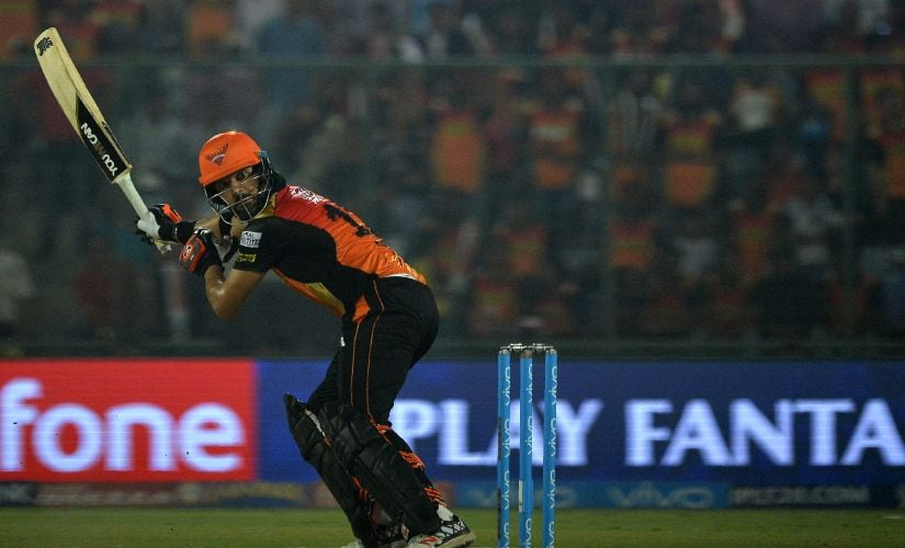 Yuvraj played for Sunrisers Hyderabad in the 2016 and 2017 editions of IPL. AFP