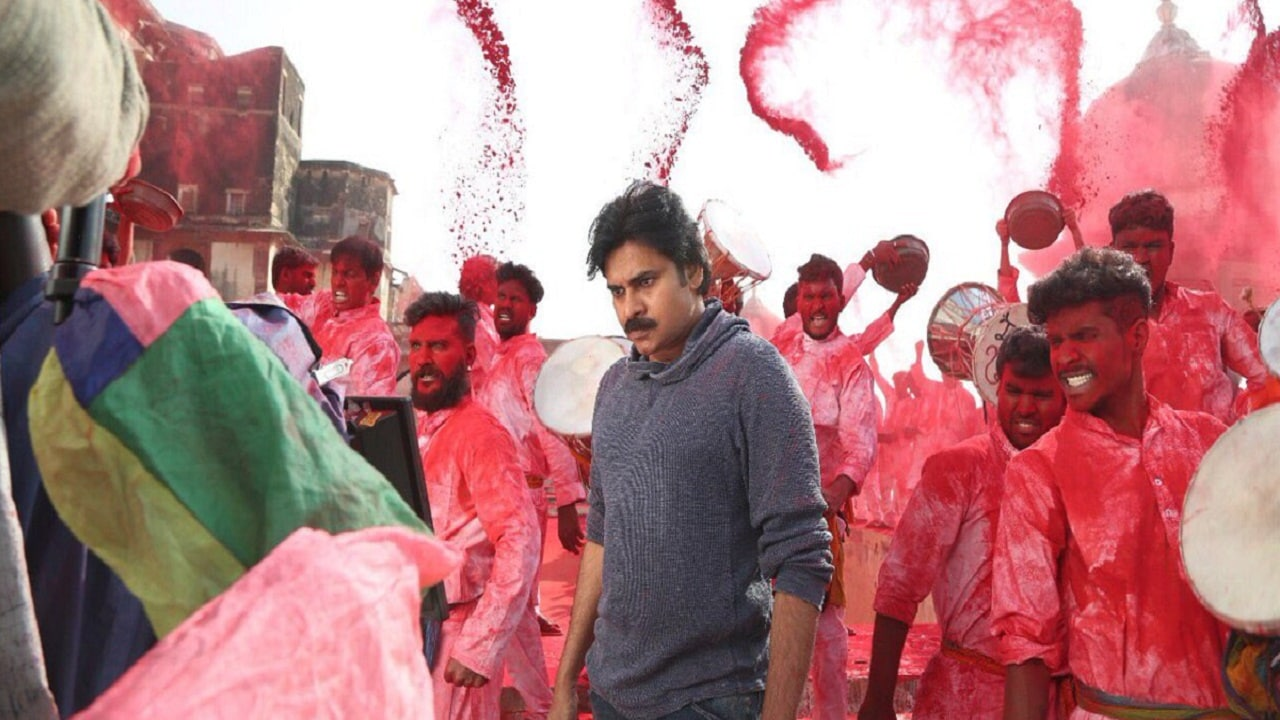 Pawan Kalyan in a still from Agnyaathavaasi. YouTube