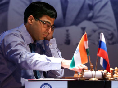 File photo of Viswanathan Anand. AFP