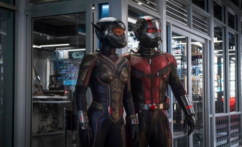 A still from Ant Man and the Wasp  Image from YouTube