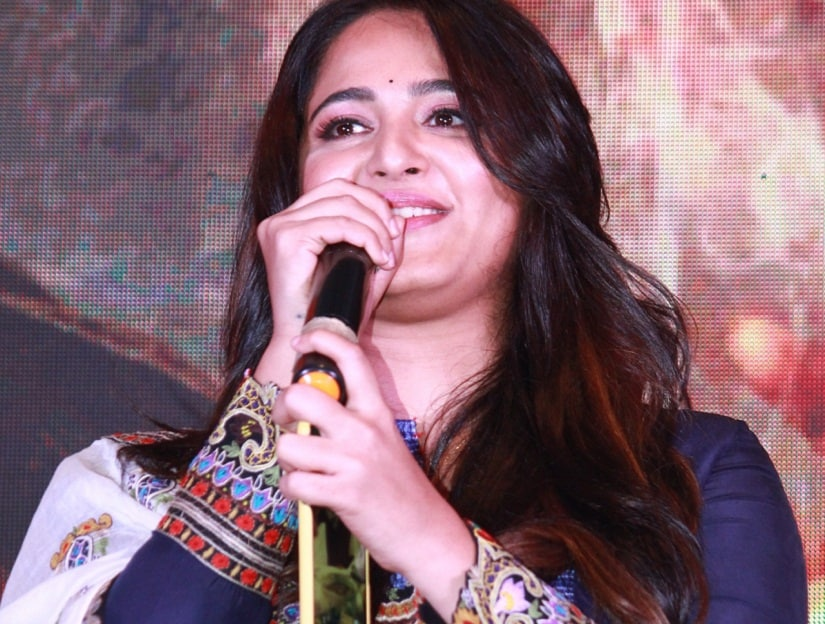 Anushka Shetty at the music launch of Bhaagamathie