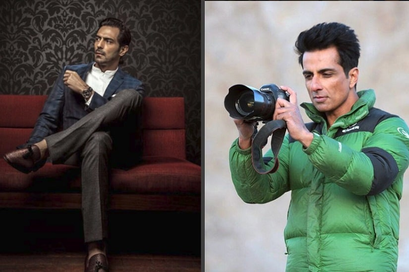 Arjun Rampal and Sonu Sood. News18