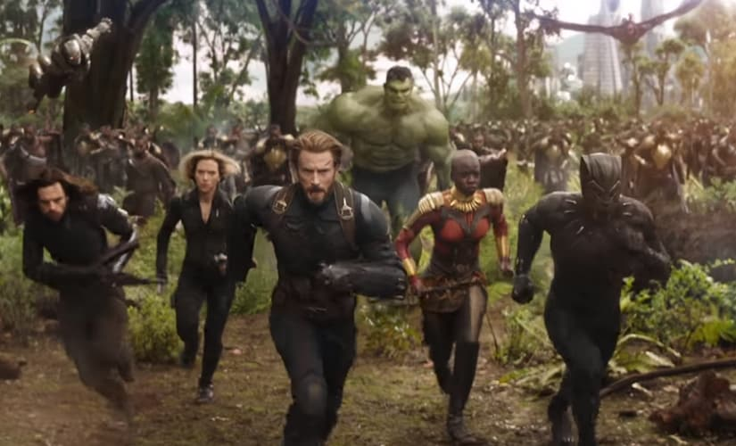 A still from the upcoming Avengers: Infinity War/Image from YouTube.