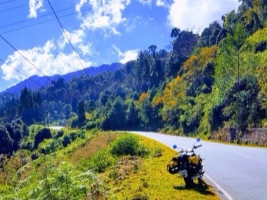 Bhutan from the back of a Royal Enfield: Riding pillion through the mountain kingdom