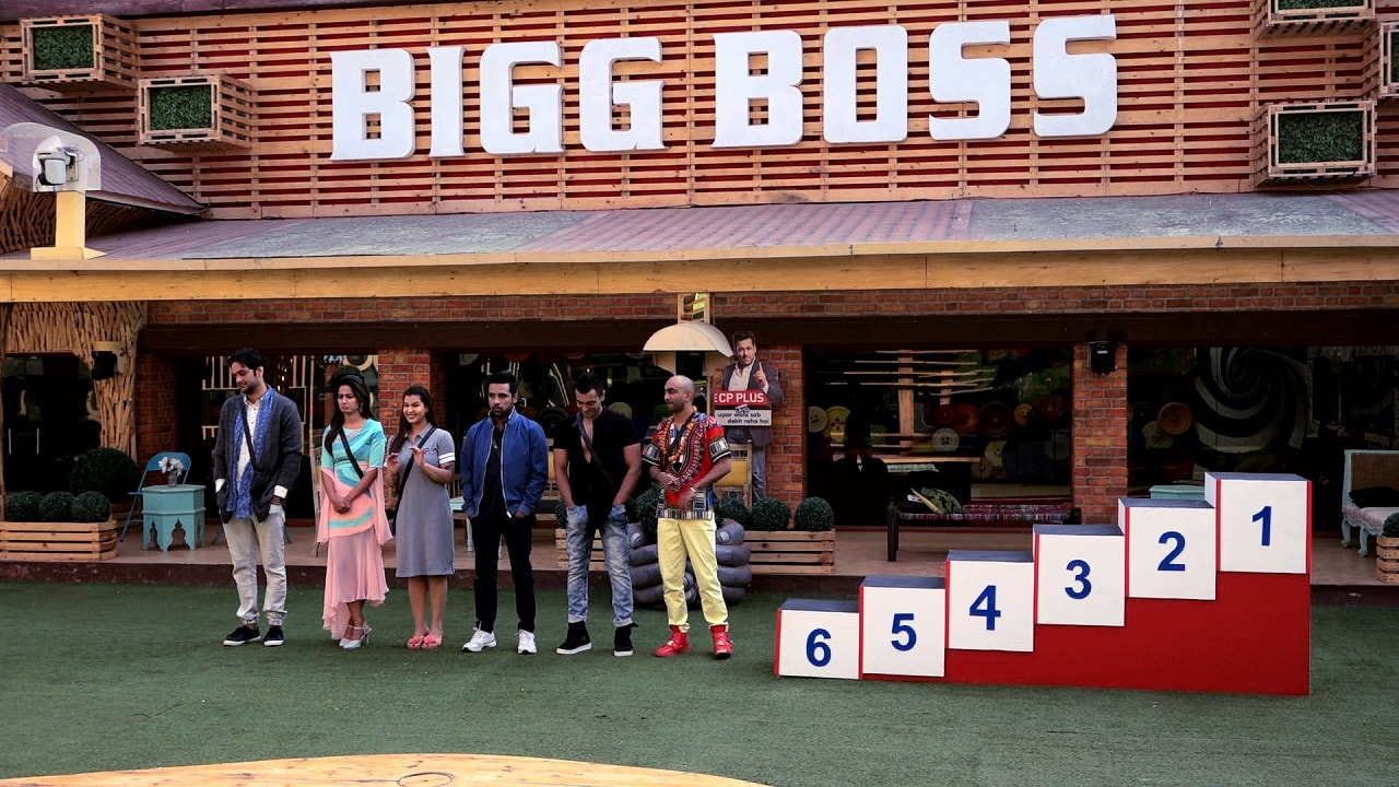 Bigg Boss 11 contestants during the nomination task on 1 January, 2018