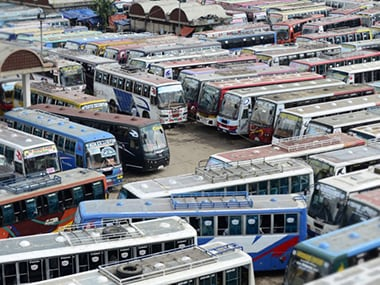 Tamil Nadu bus strike: Govt buses go off roads after 10 transport unions go on indefinite strike as wage-related talks collapse