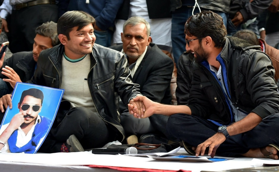 Mevani said he will stand against the politics of hatred and stick to constitutional values and the
