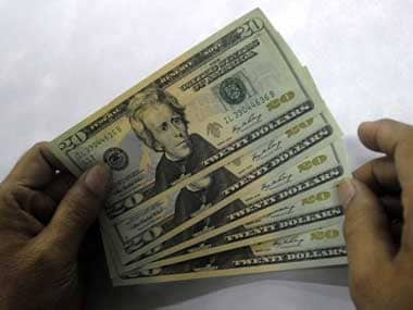 US dollars. Reuters.