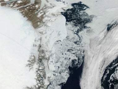 Research indicates that loss of heat from Earth's interior is melting Greenland's ice sheet
