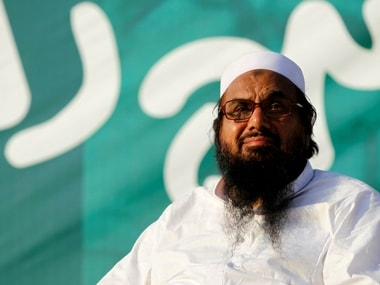 File image of JuD chief Hafiz Saeed. Reuters