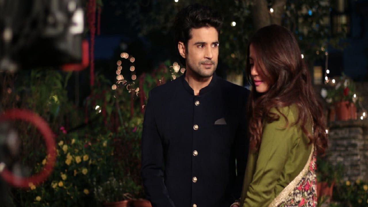 Rajeev Khandelwal and Surveen Chawla in a still from Haq Se. YouTube