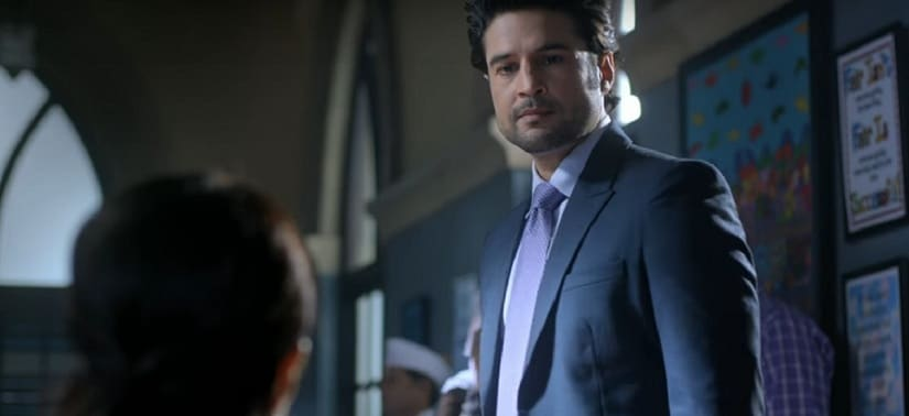 Rajeev Khandelwal in a still from Haq Se. YouTube