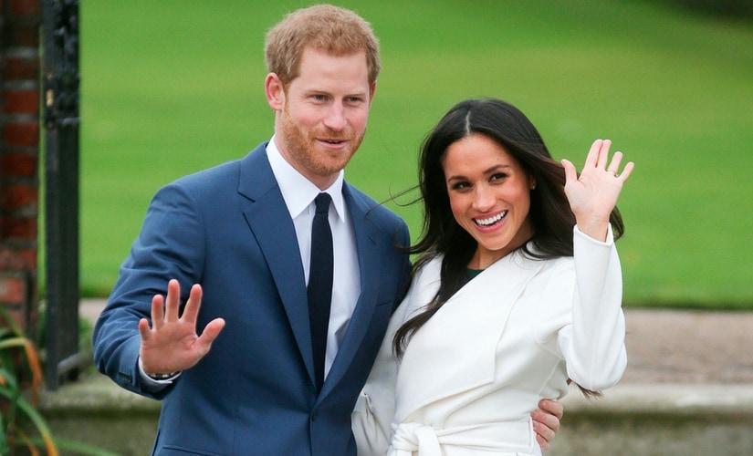 Prince Harry and Meghan Markle/Image from Twitter.