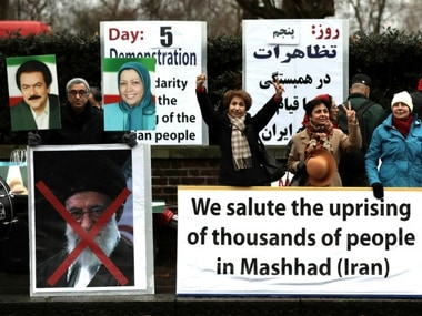 Thousands of people have been protesting against the government in Iran. Reuters file image