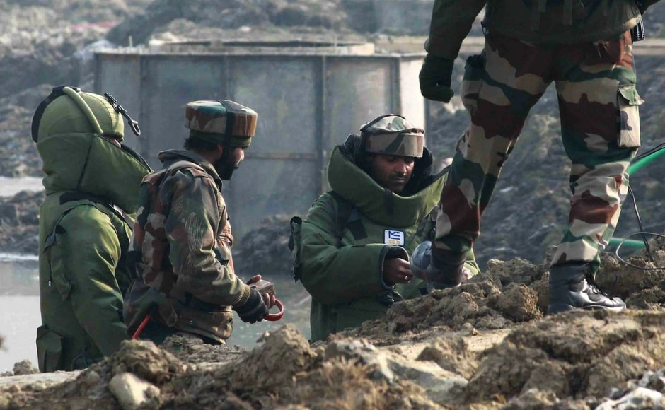 The separatists had called for the strike in the wake of death of a civilian in Khudwani area of Kulgam district on Tuesday. On Saturday, the security Forces recovered an improvised explosive device (IED) in HMT area on Srinagar-Baramullah Highway. Image Courtesy: Sameer Mushtaq