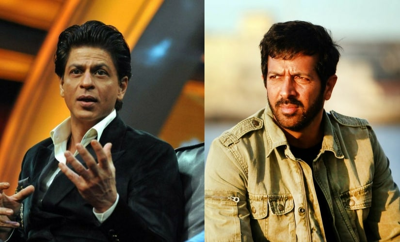 Shah Rukh Khan and Kabir Khan.