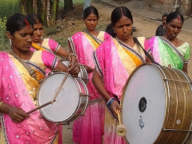 An all-women drumming band in Bihar is empowering its members, and a marginalised community