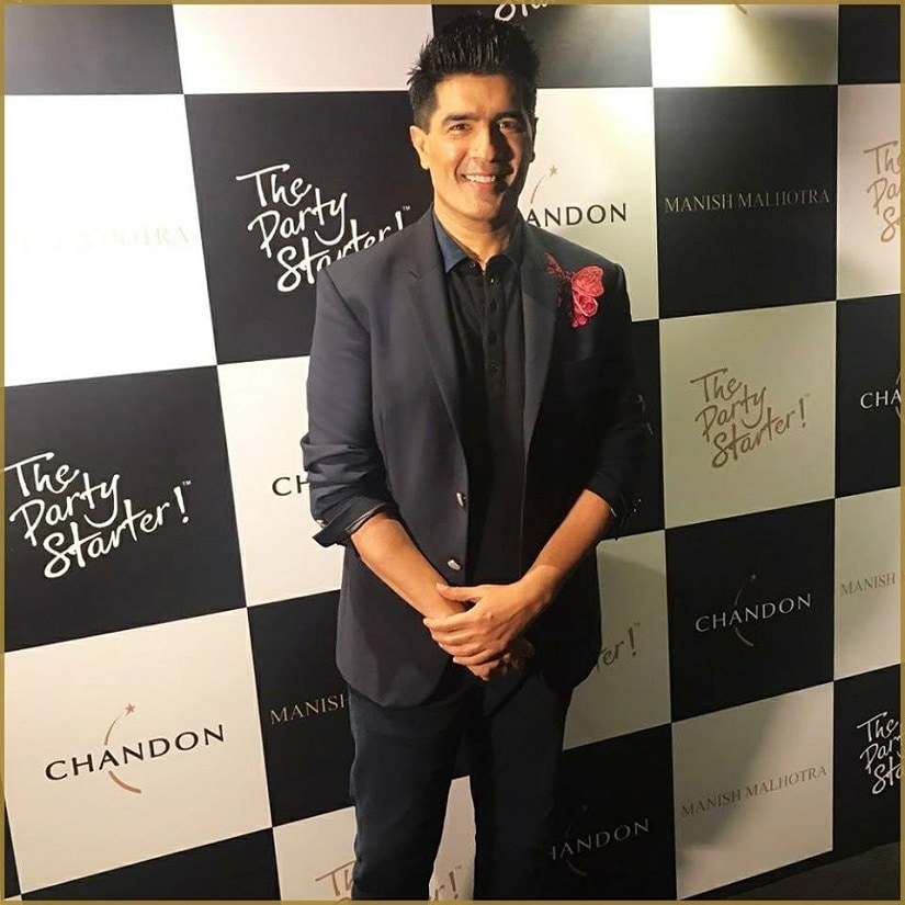 Manish Malhotra. Image from Facebook/Manish Malhotra.
