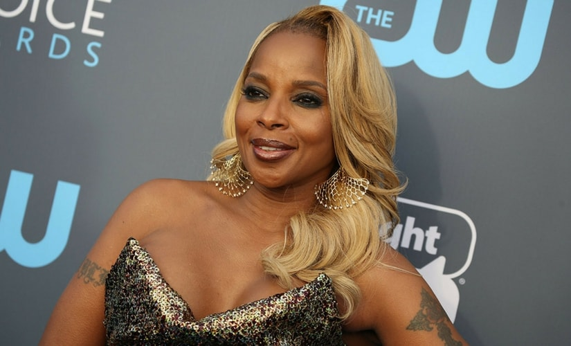Best Supporting Actress nominee Mary J. Blige/Image from Twitter.
