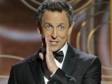 Golden Globes 2018: Host Seth Meyers unabashedly tears into Hollywood sexual harassment scandal