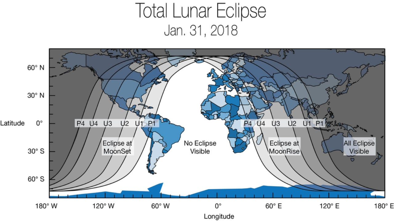 Various time frames when the lunar trilogy will occur. NASA.