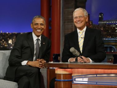 Barack Obama to be the first guest on David Letterman's new Netflix talk show