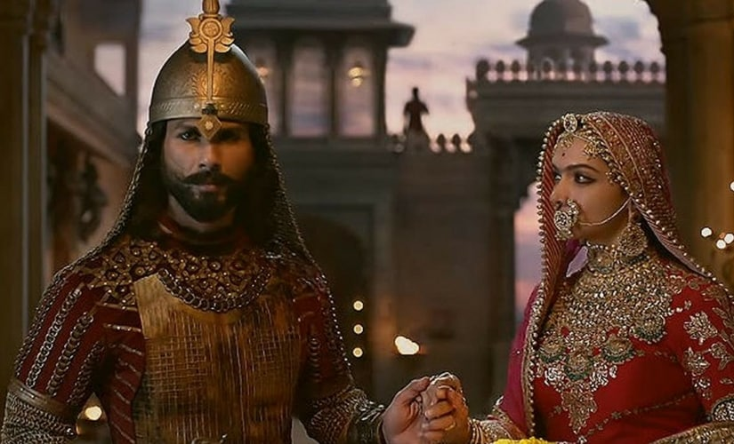 A still from Padmaavat/Image from Twitter.