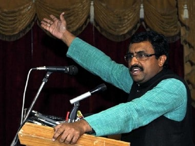 File image of Ram Madhav. CNN News18
