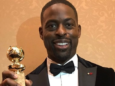 Golden Globes 2018: Sterling K Brown becomes first African-American male to win Best Actor in Television Drama