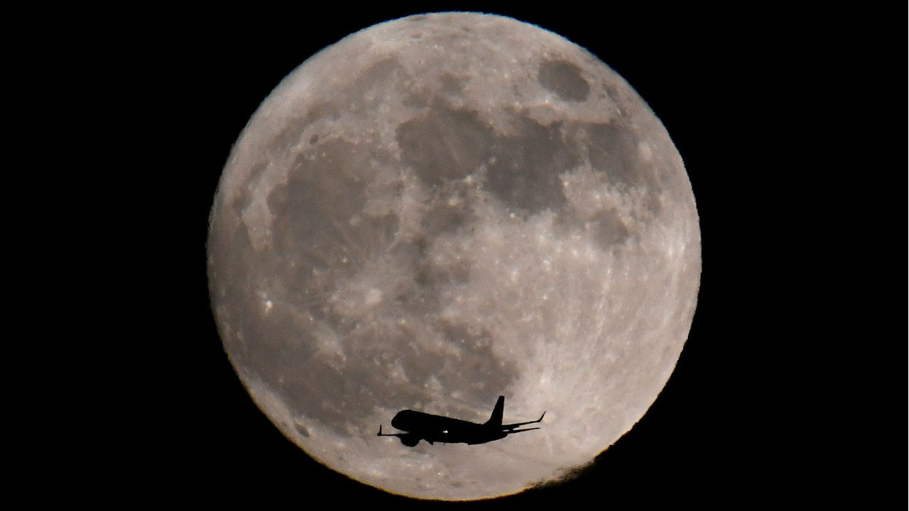 On 31 January a supermoon, a blue moon and a lunar eclipse will be observed.
