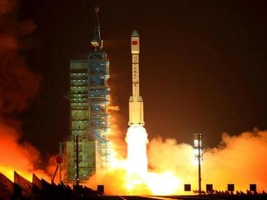 Tiangong-1 is a 19,000 pound Chinese space station that's going to crash into Earth soon; but there's nothing to worry