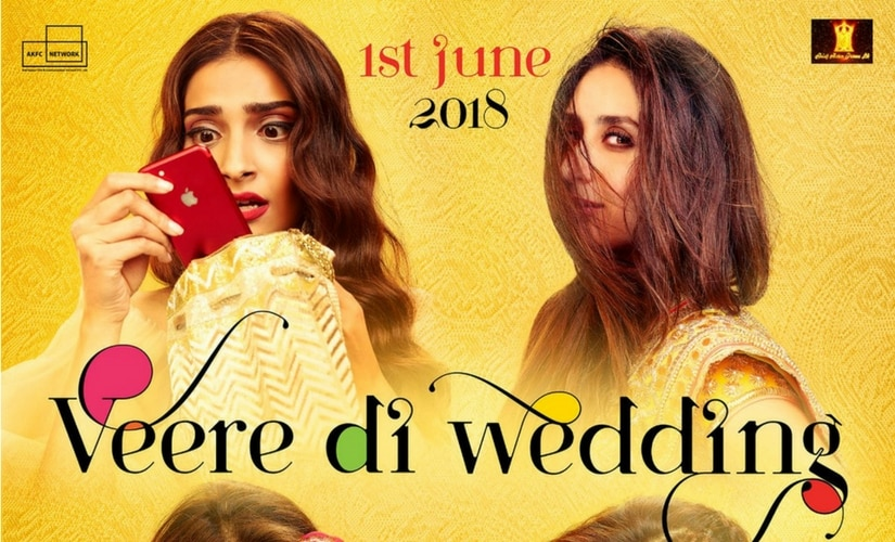 Poster for Veere Di Wedding/Image from Twitter.